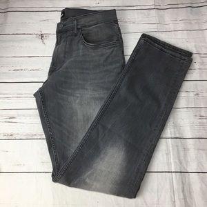 Hudson Blake slim straight size 32 gray
